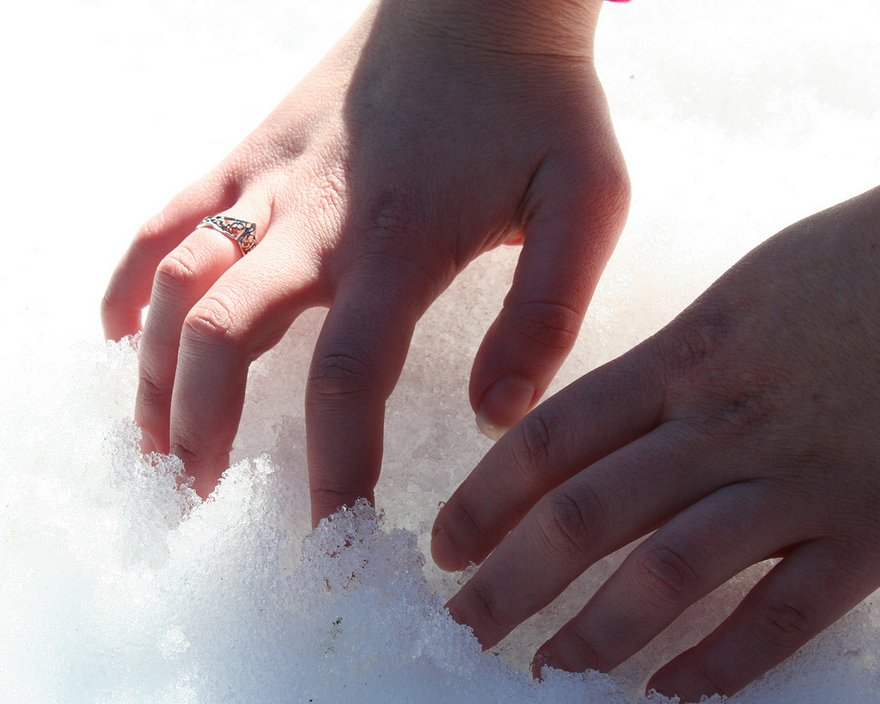 Cold Hands and Wet Feet May Be a Symptom for  Disease.