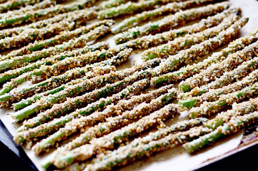 Asparagus is best: Cooked