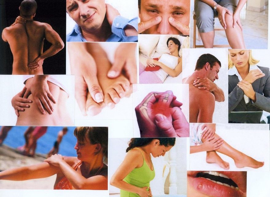 Twelve Types of Pains and the Foods to Cure Them