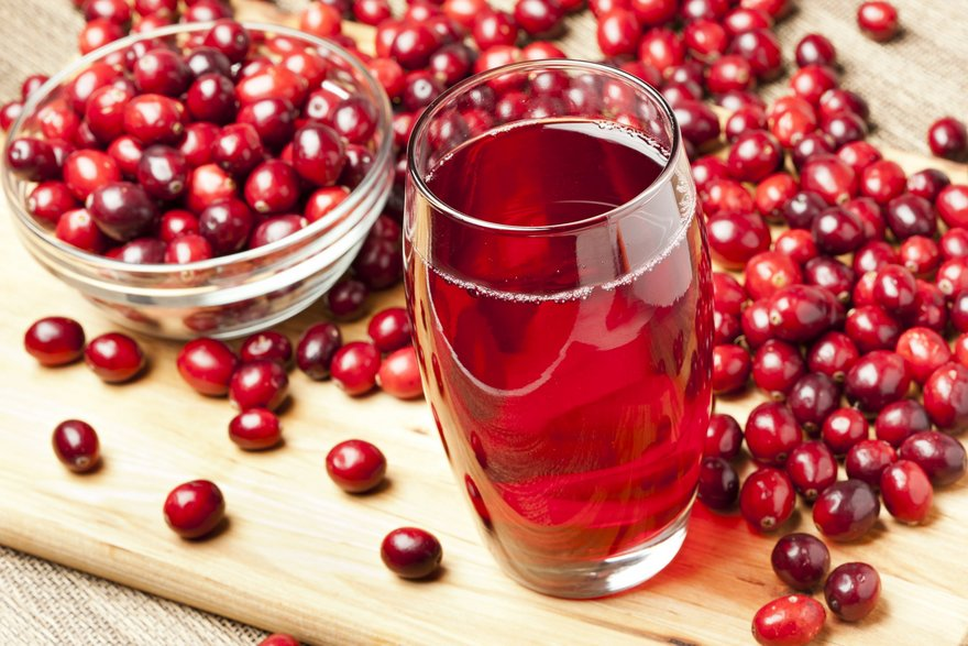 Drink Cranberry Juice Daily to Ward Off Urinary Infection