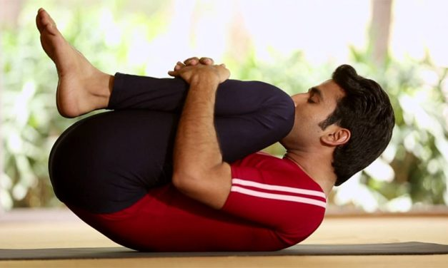 Simple Yoga for Gastric Problems – Pawanmuktasana, Gas Release Pose